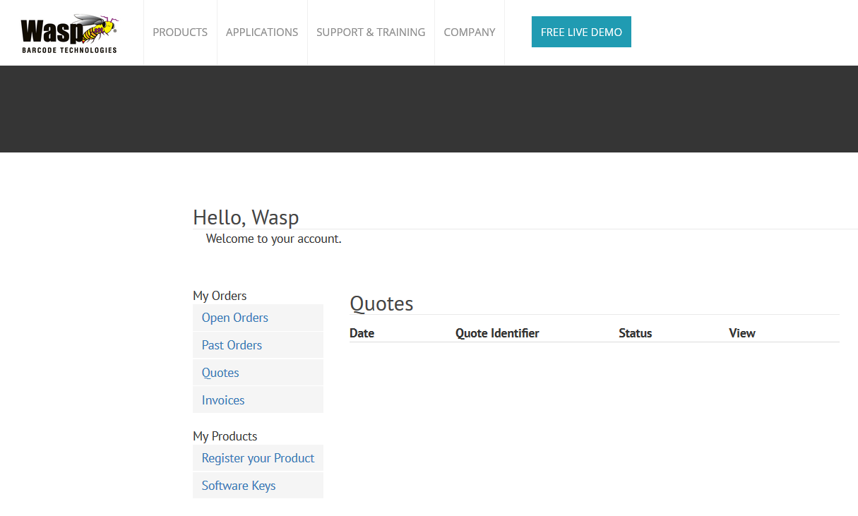 Wasp Software Registration and Activation Key - News