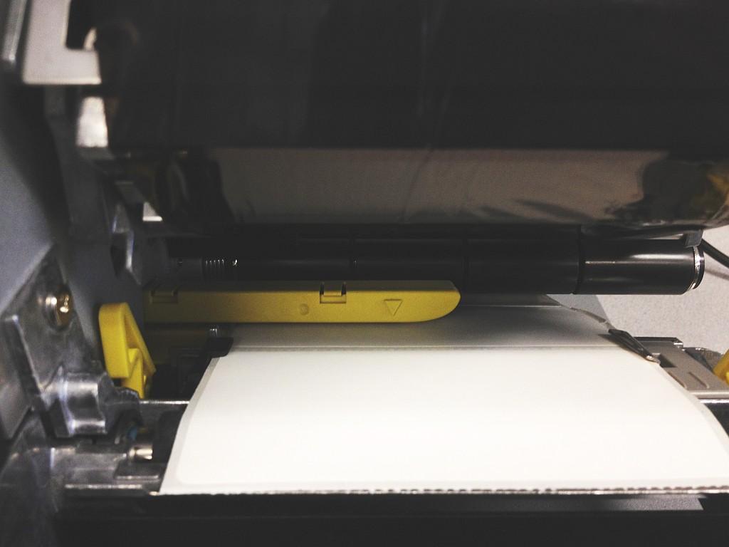 Industrial label printer gap sensor: WPL612, WPL610, WPL608